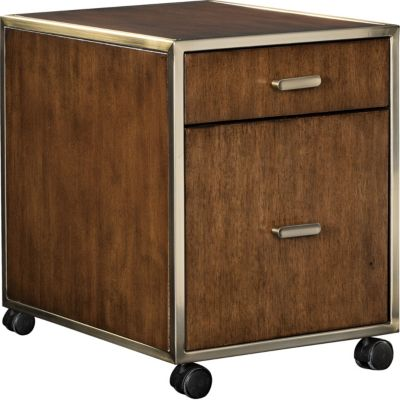 Retrospect Hillier Mobile File Storage & Home Office Bookcase u0026 File Cabinets | Thomasville Furniture ...