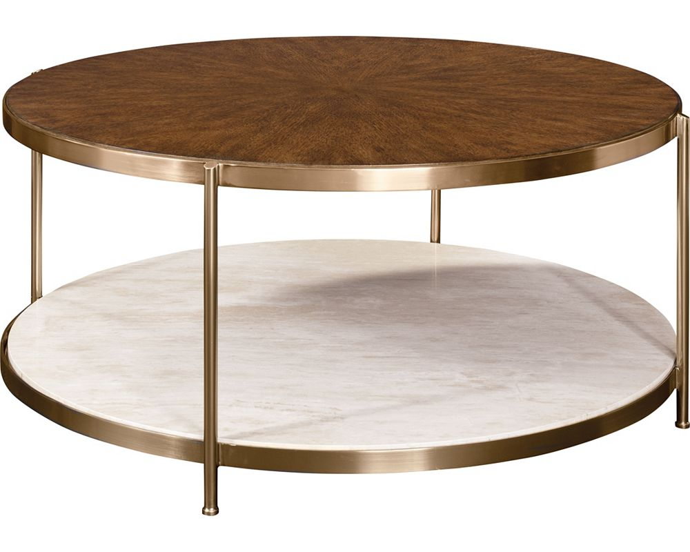 Retrospect Brigid Round Cocktail Table
