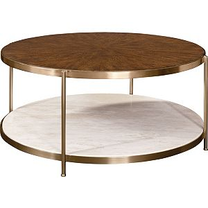 Retrospect Brigid Round Cocktail Table