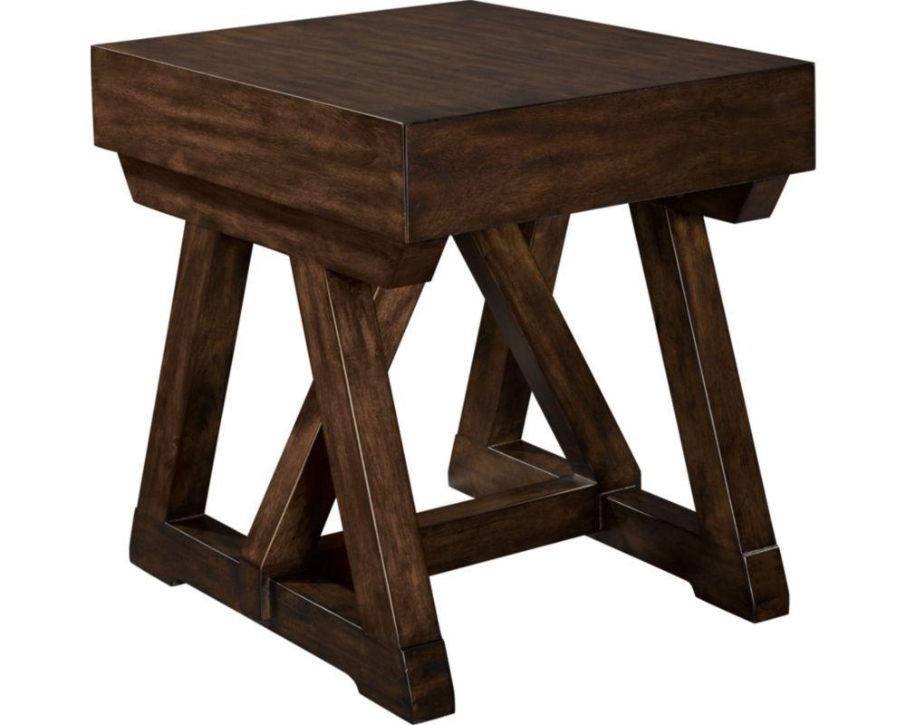 Brunell Lancing End Table