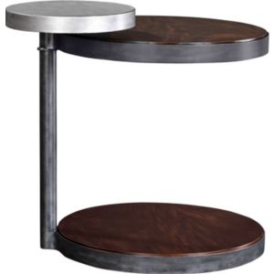 Brunell Arc Round End Table