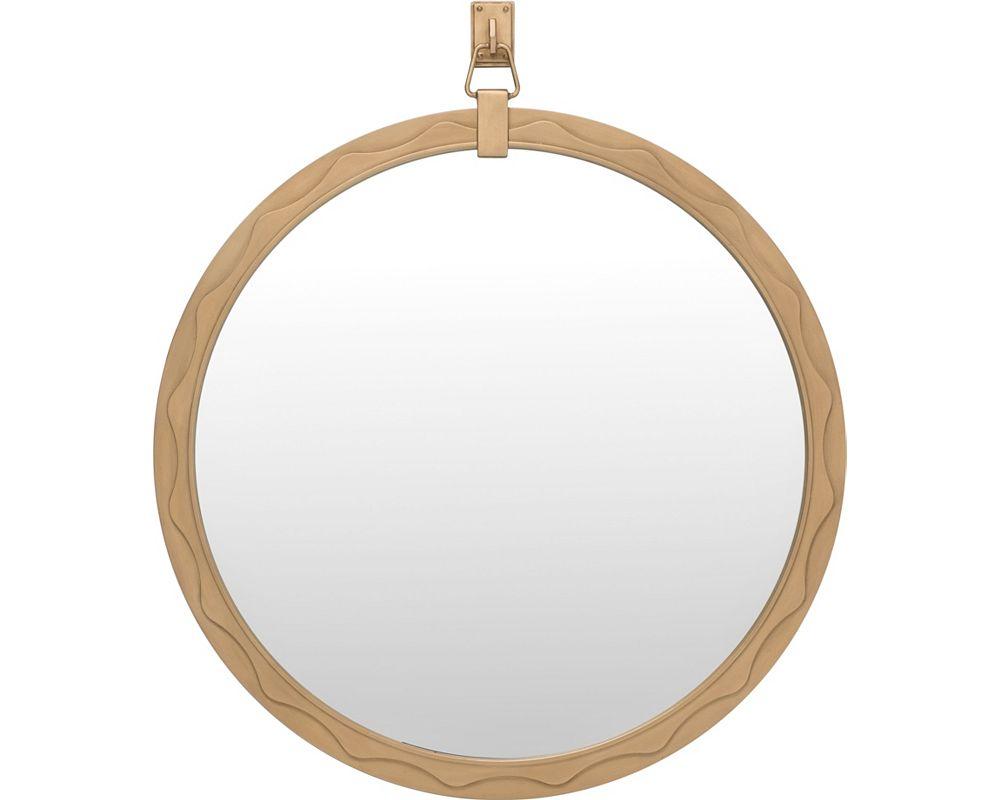 ED Ellen DeGeneres West End Round Mirror Crafted by Thomasville