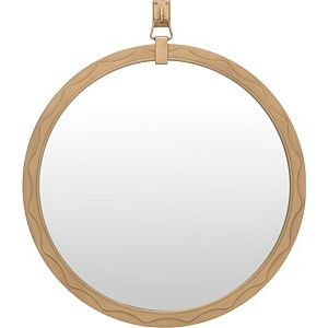 ED Ellen DeGeneres West End Round Mirror Crafted by Thomasville