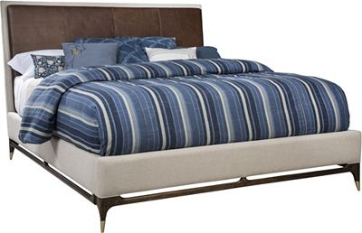 ED Ellen DeGeneres Wilshire Upholstered Bed Crafted by Thomasville