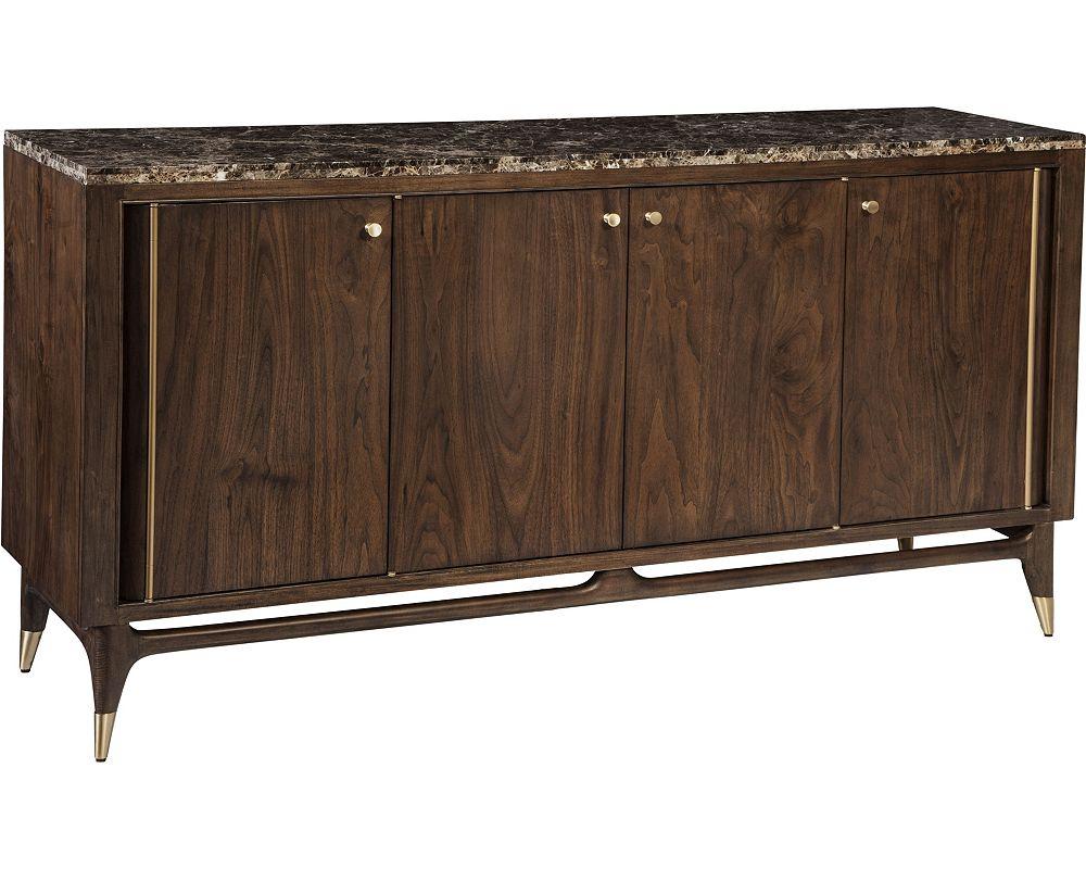 ED™ Ellen DeGeneres Collina Marble Top Sideboard - Wood Buffet Tables & Buffet Cabinets Thomasville Furniture