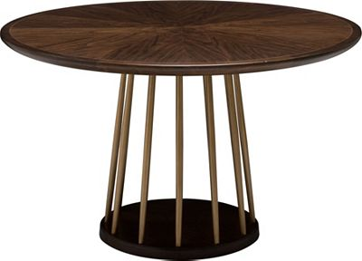 Round Dining Table ed ellen degeneres lafitte round dining table | thomasville furniture