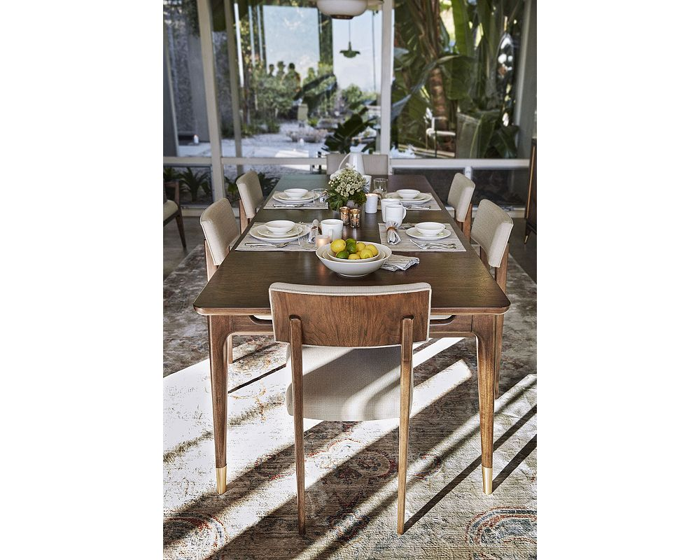Ed ellen degeneres westwood rectangular dining table ed ellen degeneres westwood rectangular dining table crafted by thomasville