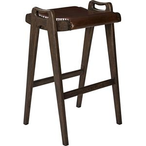 ED Ellen DeGeneres Tollis Wooden Bar Stool Crafted by Thomasville