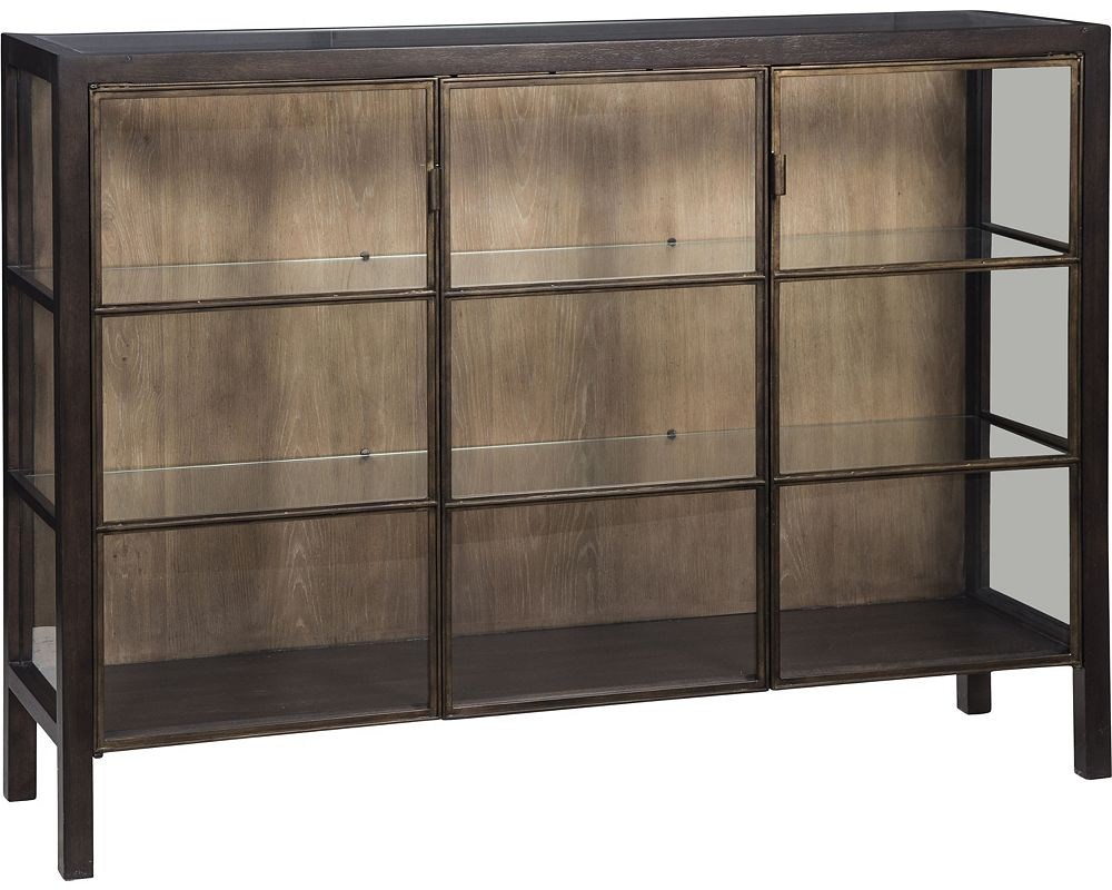 ED Ellen DeGeneres Grove Display Console Crafted by Thomasville
