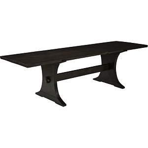 ED Ellen DeGeneres Coldwater Farmhouse Trestle Table Crafted by Thomasville