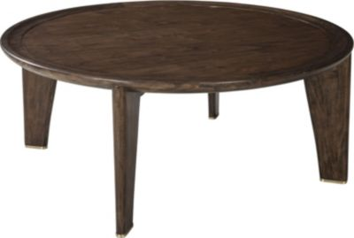 ED Ellen DeGeneres Villere Round Cocktail Table Crafted By Thomasville