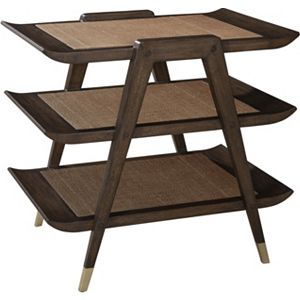 ED Ellen DeGeneres Carlera 3 Tier Table Crafted by Thomasville