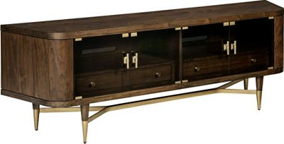 ED Ellen DeGeneres Bissonet Entertainment Console Crafted by Thomasville