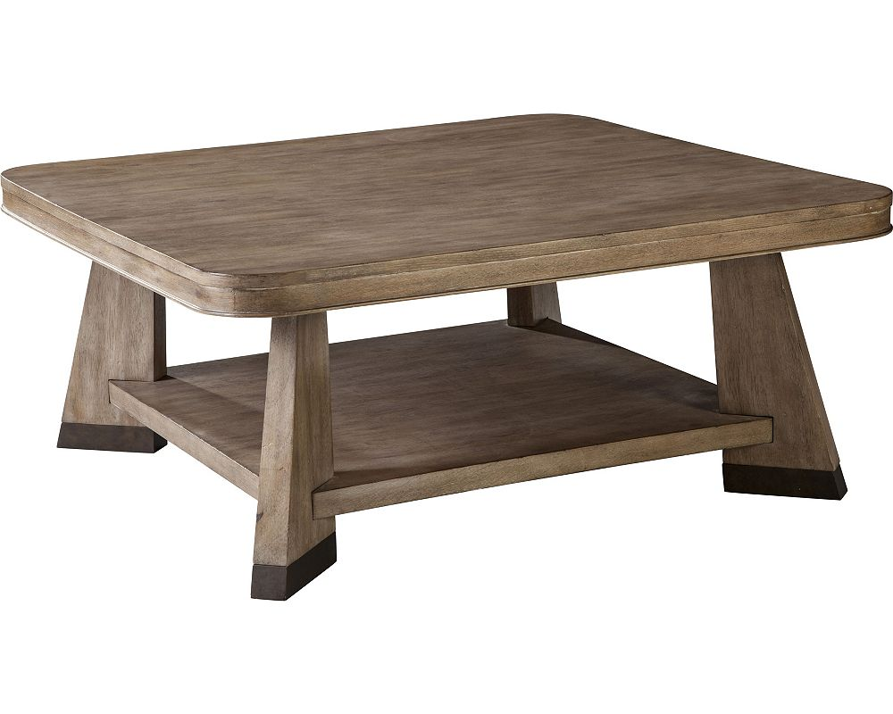 ED Ellen DeGeneres Pasadena Square Cocktail Table Crafted by Thomasville
