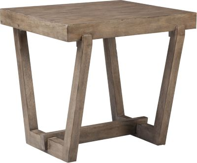 Beau ED Ellen DeGeneres Camphor Tapered End Table Crafted By Thomasville