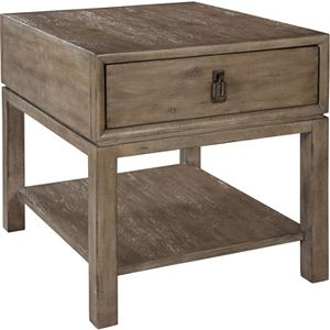 ED Ellen DeGeneres Jefferson Drawer End Table Crafted by Thomasville