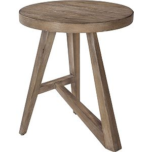 ED Ellen DeGeneres Bucktown Round Accent Table Crafted by Thomasville