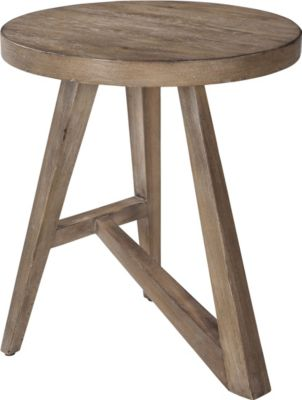 ED Ellen DeGeneres Bucktown Round Accent Table Crafted By Thomasville Part 67