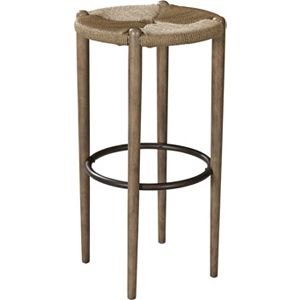 ED Ellen DeGeneres Sevy Danish Cord Bar Stool Crafted by Thomasville