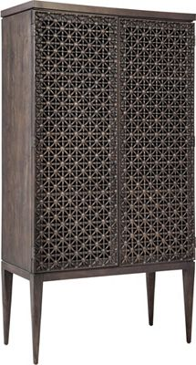 ED Ellen DeGeneres Oletha Tribal Door Chest Crafted by Thomasville