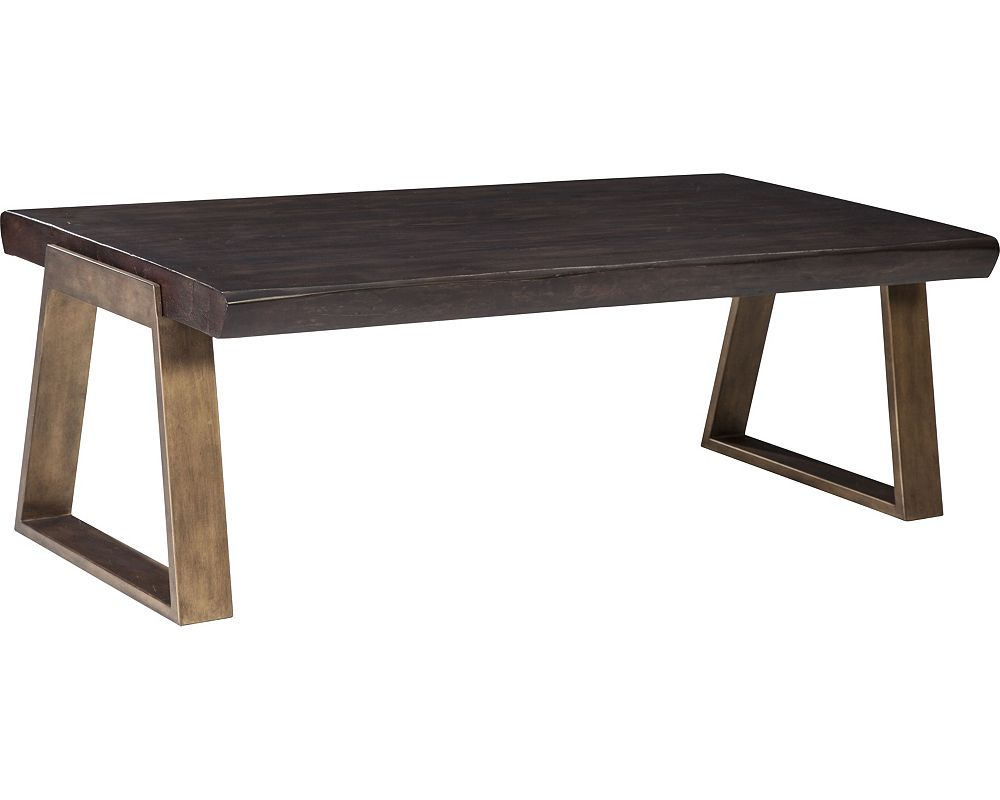 ED Ellen DeGeneres Canyon Live Edge Cocktail Table Crafted by ThomasvilleLiving Room Tables   Living Room   Thomasville Furniture. Living Room Sofa Tables. Home Design Ideas