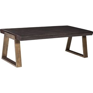 ED Ellen DeGeneres Canyon Live Edge Cocktail Table Crafted by Thomasville