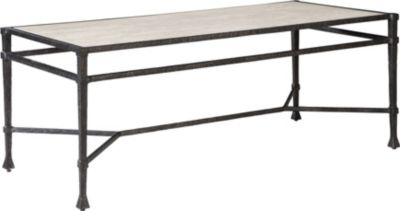 ED Ellen DeGeneres Chalette Metal And Stone Cocktail Table Crafted By  Thomasville