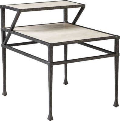 ED Ellen DeGeneres Tullis Metal And Stone End Table Crafted By Thomasville