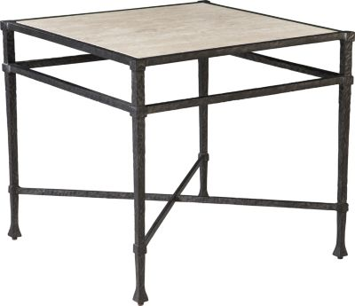 ED Ellen DeGeneres Arnoult Metal And Stone Lamp Table Crafted By Thomasville