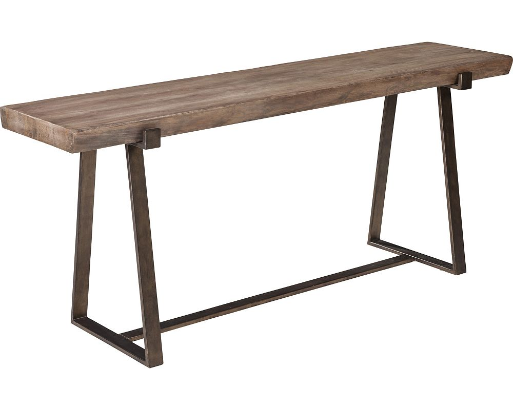 ED Ellen DeGeneres Hollyridge Live Edge Console Table Crafted by Thomasville