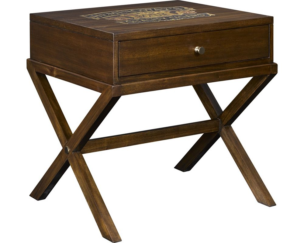 Ernest Hemingway® Corona Cigar Box End Table