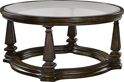 Escott Round Cocktail Table