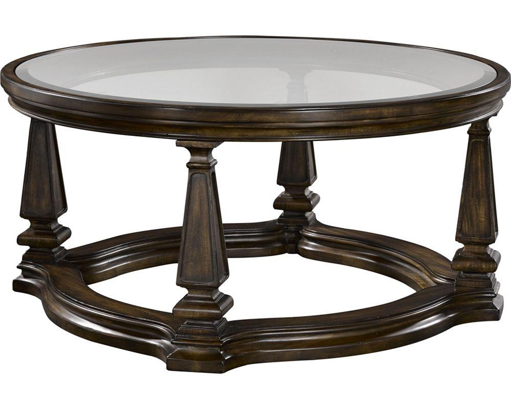 Escott Round Cocktail Table