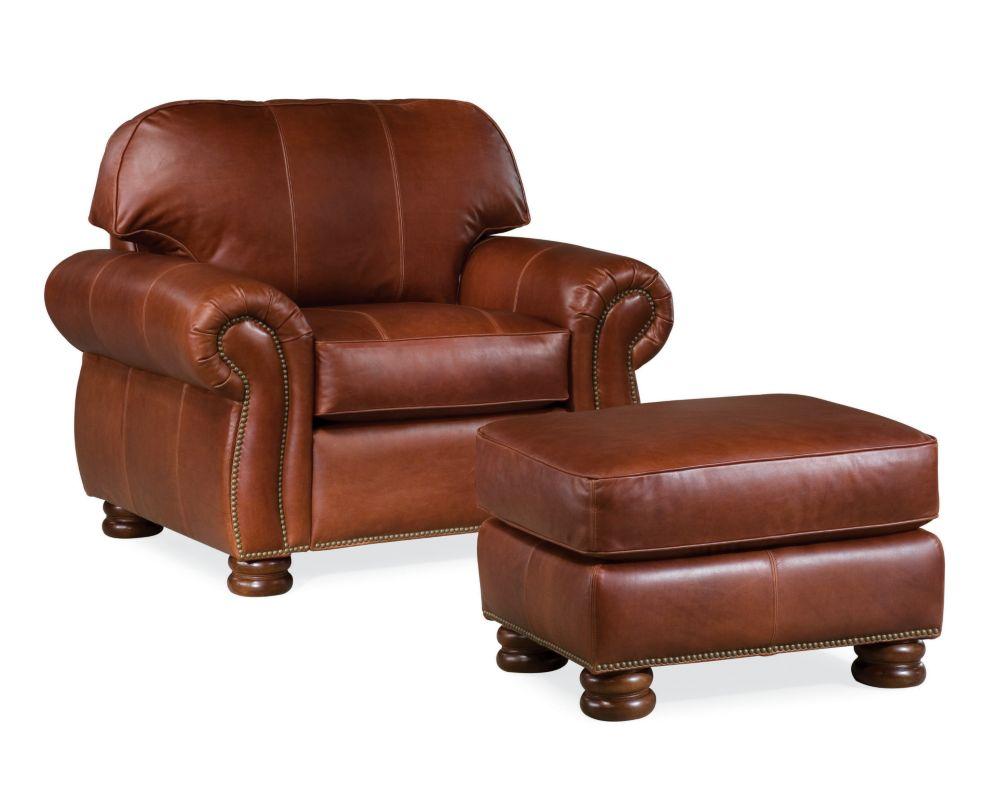 Benjamin Ottoman (Leather)