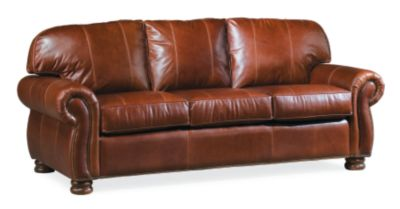 Charmant Benjamin 3 Seat Sofa (Leather)