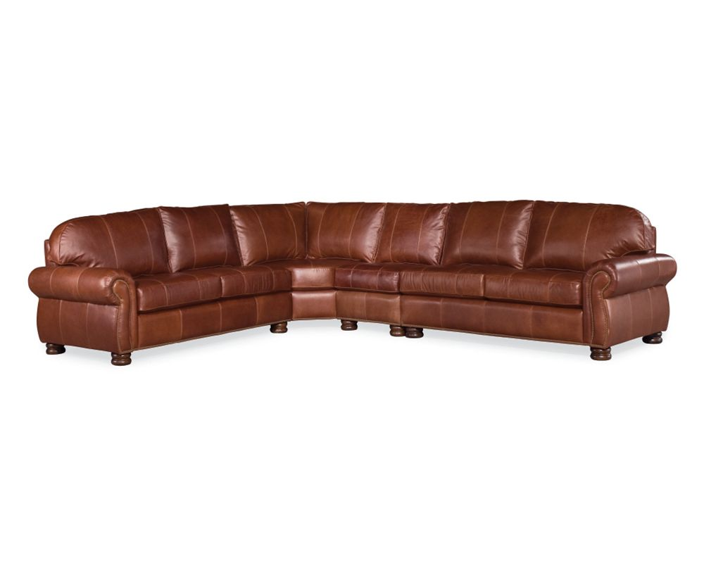 benjaminleather piece trim sectional select threshold item height products sofas thomasville choices width leather benjamin