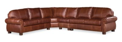Genial Benjamin Sectional (Leather)