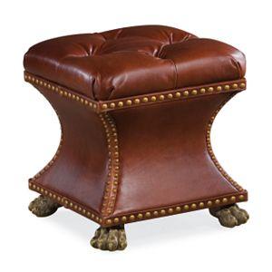 Bijou Ottoman (Leather)