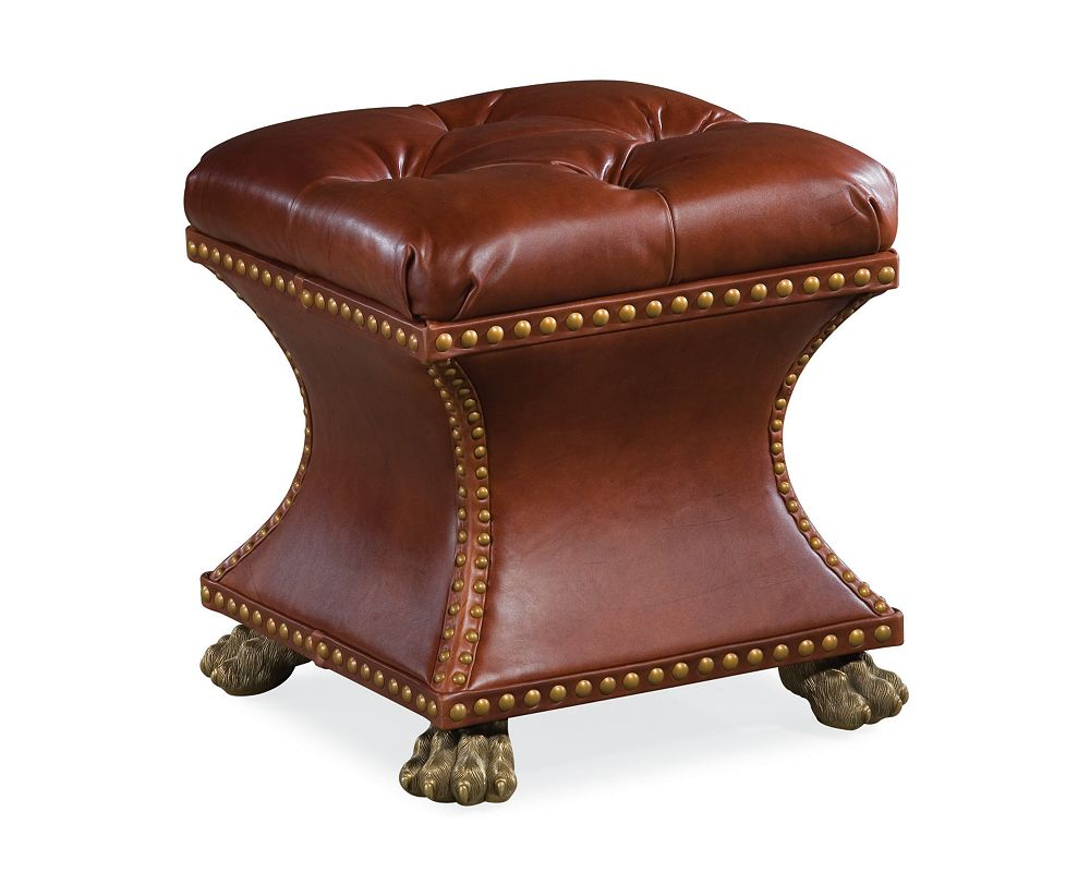 Bijou Ottoman Leather Thomasville Furniture