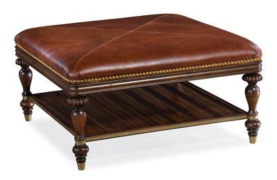 Masai Ottoman (Leather)