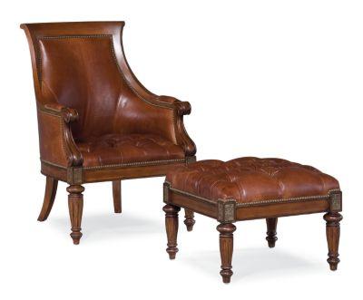 Charming Ernest Hemingway® Anson Chair (Leather)