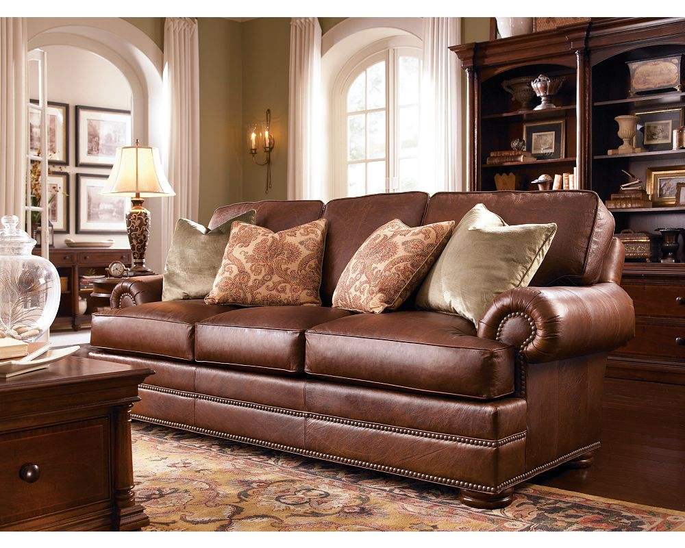 Ashby Sofa (Leather) - Ashby Sofa (Leather) Thomasville Furniture