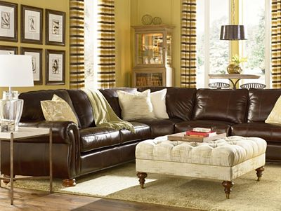 regatta cocktail ottoman | living room furniture | thomasville