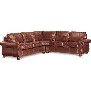 Benjamin Sectional (Two-Piece) (Leather)
