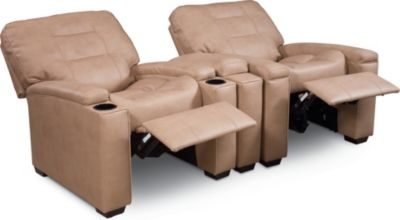 Zoom In  sc 1 st  Thomasville Furniture & Latham Media Recliner with Cup Holder (Manual) (Leather ... islam-shia.org