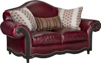 ernest hemingway pauline loveseat leather