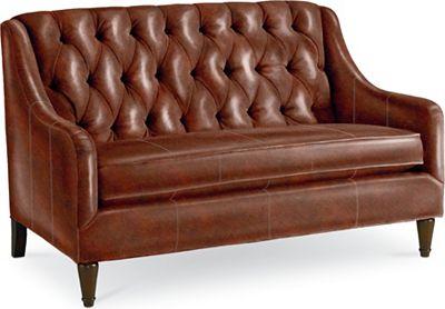 Barcelona Settee (Leather)
