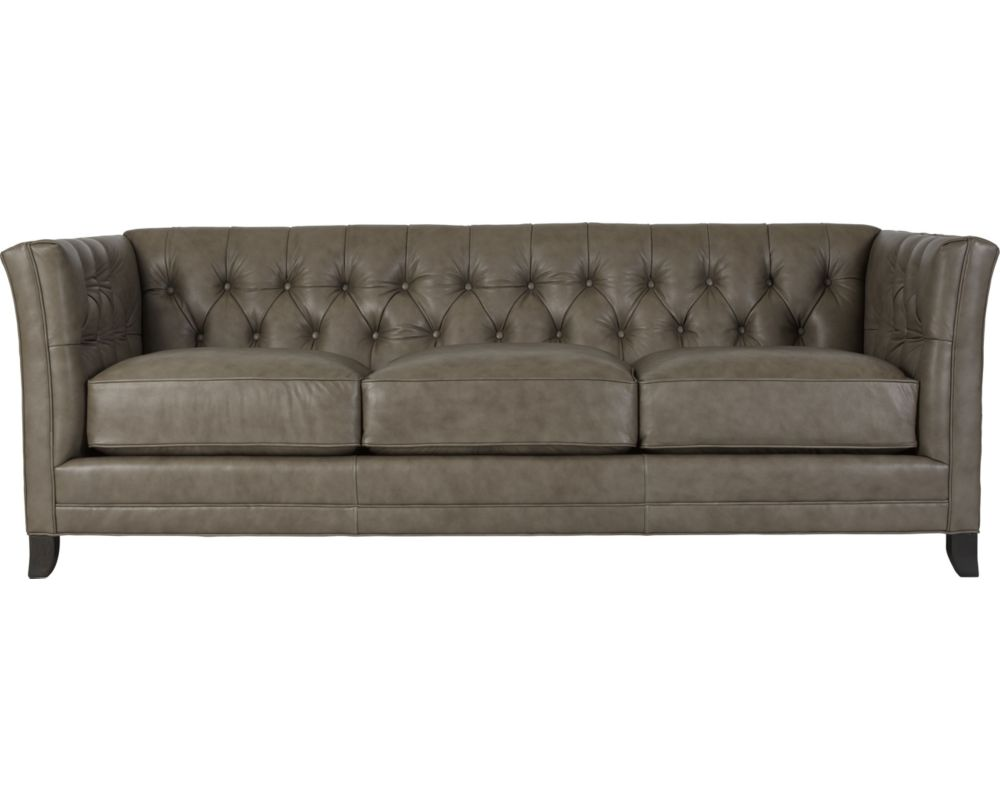 Surrey sofa leather thomasville furniture for Thomasville sectional sleeper sofa