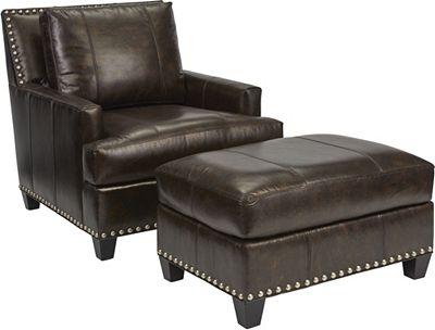 Beau Ottoman (Leather)