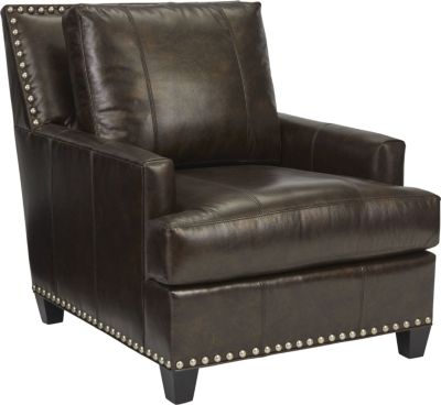 Beau Chair (Leather)  sc 1 st  Thomasville Furniture : leather chair and a half recliner - islam-shia.org